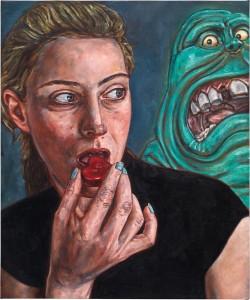 Alex Tennigkeit Selbst als Allegorie Eye Candy