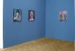 A Hint of Lightness, blue cabinet