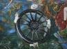 Hedonic Wheel of Fortune (Drift), detail